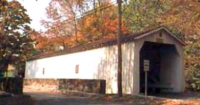 Green Sergeants Covered Bridge, New Jersey