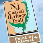NJ Coastal Heritage Trail Sign