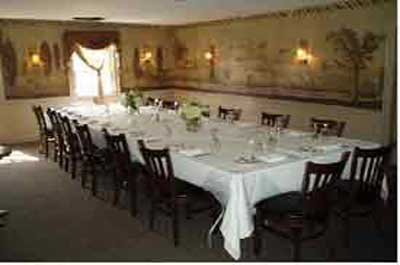 Northern NJ  restaurant  Private Dining Room