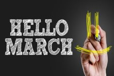 March Things to do
