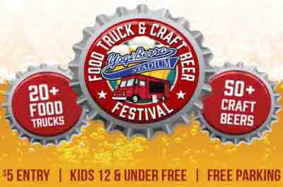 Food Truck & Craft Beer Fest at Yogi Berra Stadium