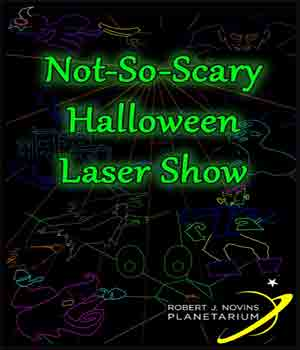 Not so scary Halloween Laser Show
