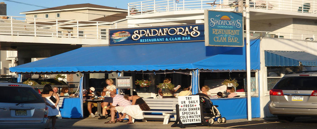 Spadafora 39 s restaurant clam bar ocean city nj a for Atlantic city romantic restaurants