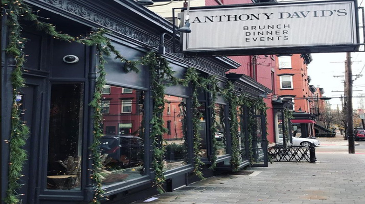 The Dining Room at Anthony David's, Hoboken, NJ