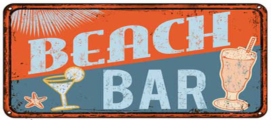 Jersey shore beach bars