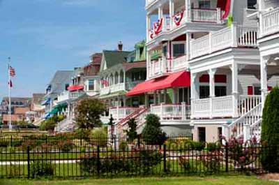 Cape May New Jersey - A visitors Guide Cape May Tourist Map on