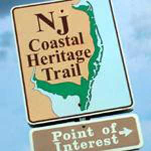 New Jersey Coastal Heritage Trail Sign