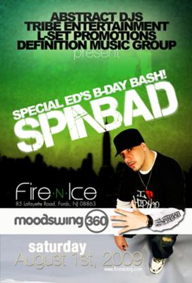 DJ Spinbad - Aug. 1