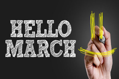 Things To Do In  March