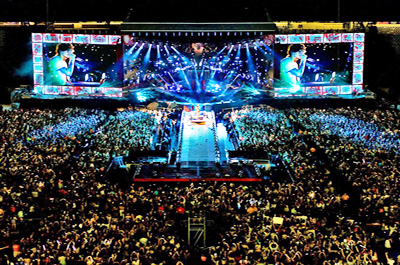 New Jersey Concerts Halls and Stadiums