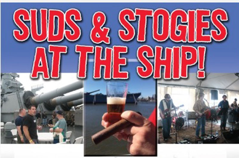 Suds & Stogies at the Battleship New Jersey