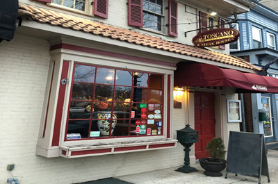 Toscano Ristorante, Bordentown, NJ