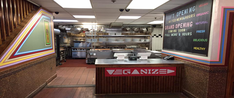 Veganized restaurant, New Brunswick, NJ