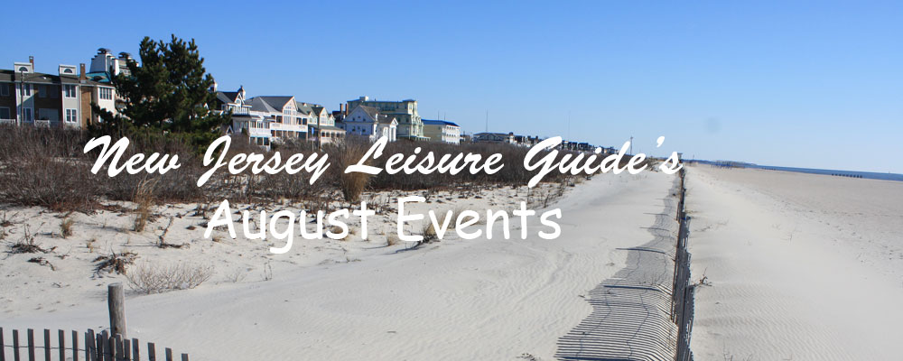 August Events in New Jersey