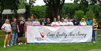 Atlantic Baseball Confederation Collegiate League Players at Camp Quality New Jersey