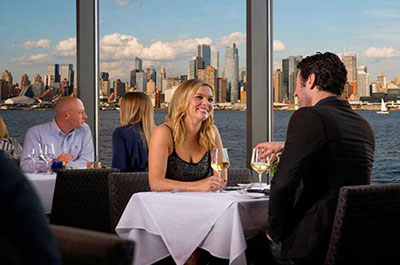 A Spectacular Waterfront View Of The New York City Skyline Through Its Floor To Ceiling Windows From Any Table In House Restaurant Review