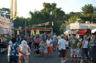 Italian Festival Feast of the Assumption at the Jersey Shore