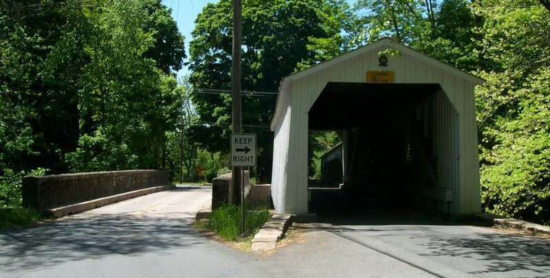 Green Seargeant's covered bridge